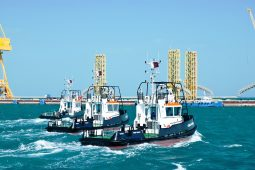 Newbuild tugboats delivered by NDSQ