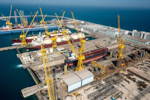 Marine and offshore repairs ongoing at N-KOM