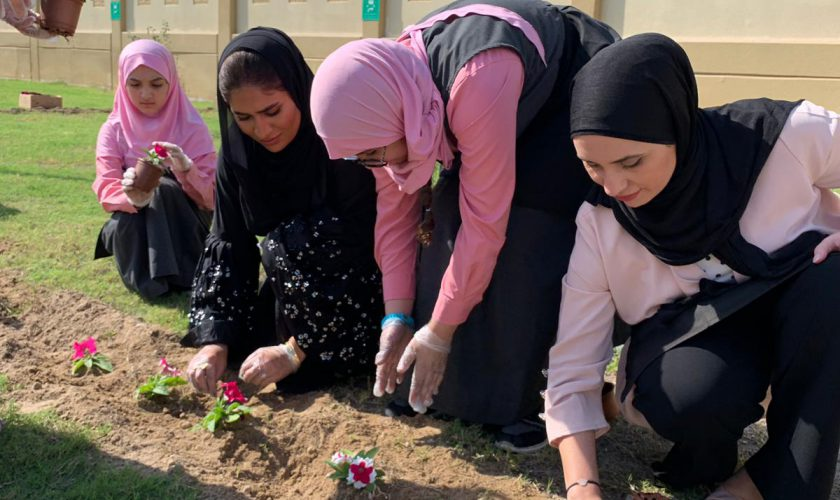 Nakilat Plant A Tree Girls CSR